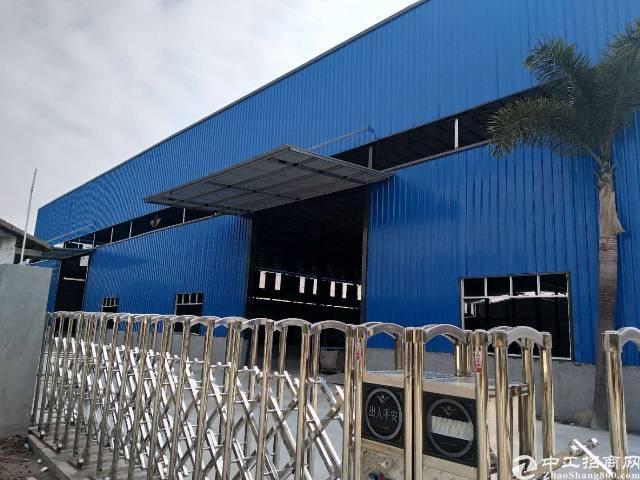 全新独院钢构5000㎡,滴水8米,租15元