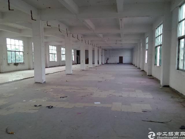 龙岗坪地龙岗大道边独院厂房6000平米有红本出租,可分租