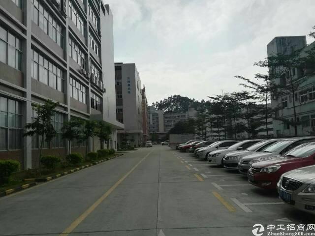 水田靠龙华新出三层8000平独栋红本厂房