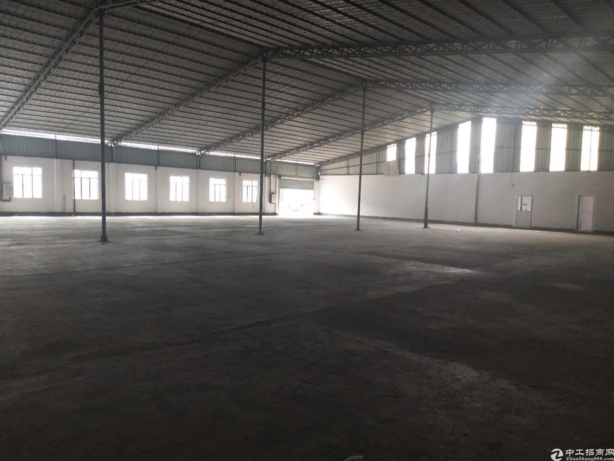 万江新出工业园独栋厂房出租,适合各种行业,电力充足!
