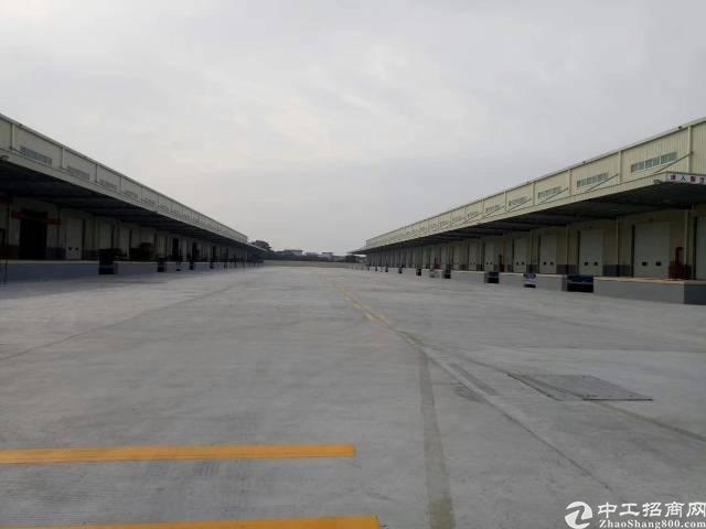 靠水乡大道大型物流仓库出租,总面积50000平米,可分租