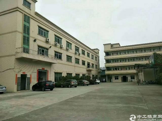 原房东厂房,大岭山新出原房东独院,三层5800方,宿舍180