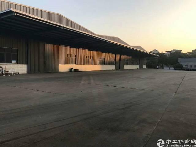万江9000平米单一层厂房,滴水8米,空地4000平米