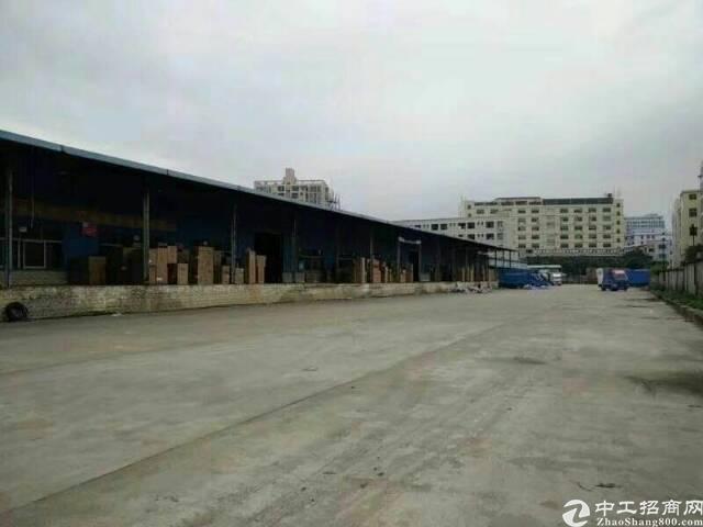标准物流仓库(带卸货平台)8000平方出租