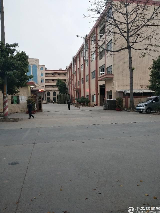 谢岗镇原房东标准厂房四楼1300平方11元出租水电齐全