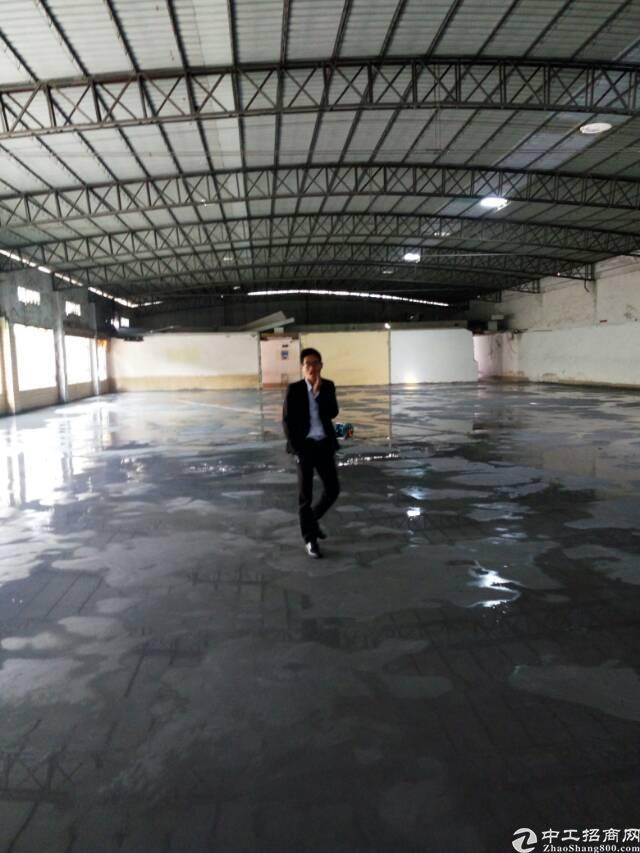 广州新塘广园快速出入口出租单一层3000平方