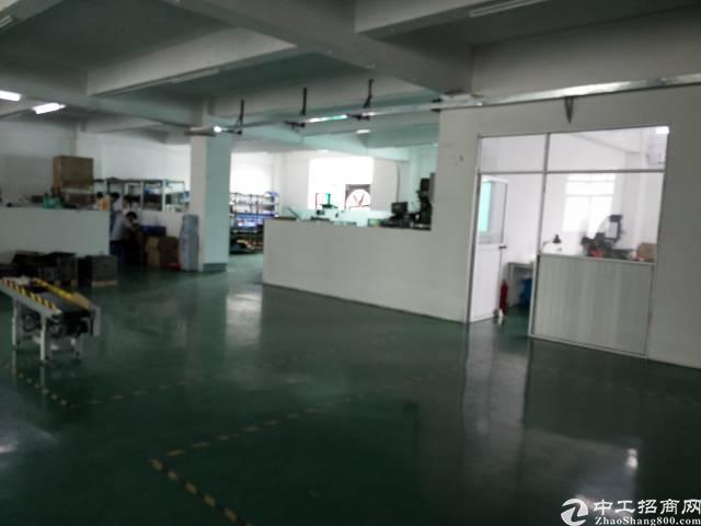 公明3楼1200平米租金15元带办公室精装修-图2