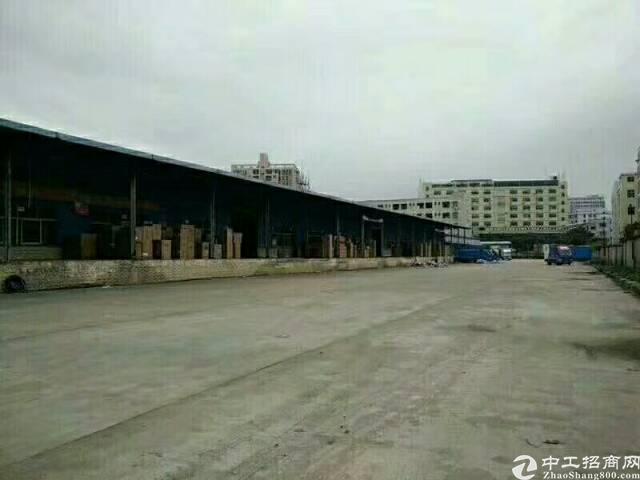 水田外环路边上新出独院标准物流仓库8000平带货台