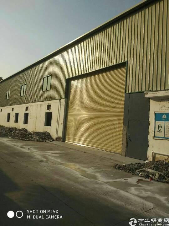 谢岗全新单一层钢构厂房4300平方,现成装修办公室宿舍500