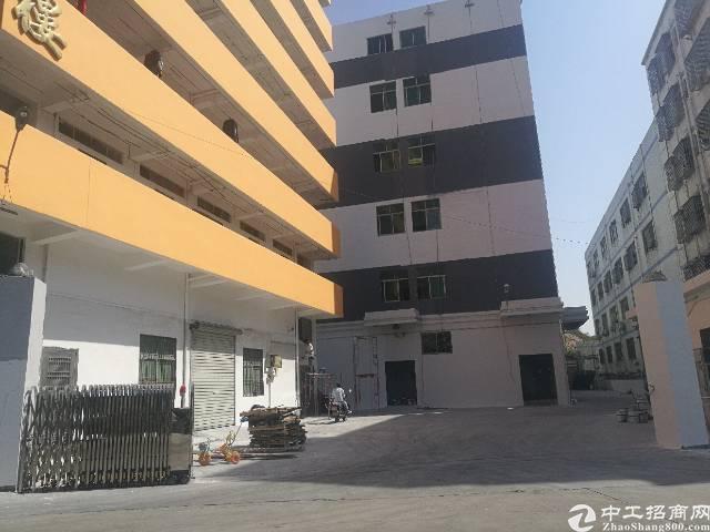 西乡鹤州楼上整层1600平米大小可分租厂房出租