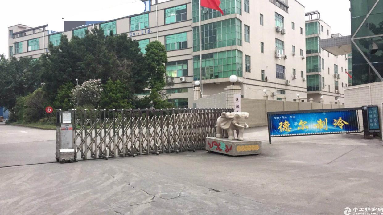 福永新出原房东独栋厂房10000平实际面积