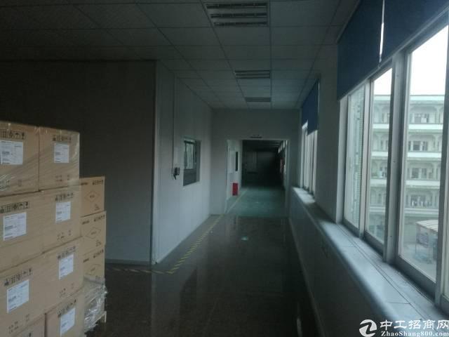 黄江社贝新出楼上带装修厂房1700平方