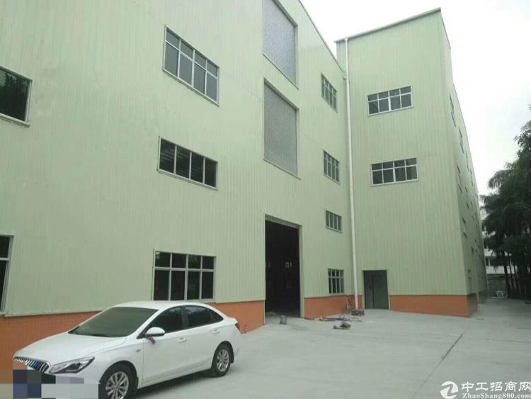 东莞高埗镇全新独院钢构3层, 每层3300多平 ,层高:一楼