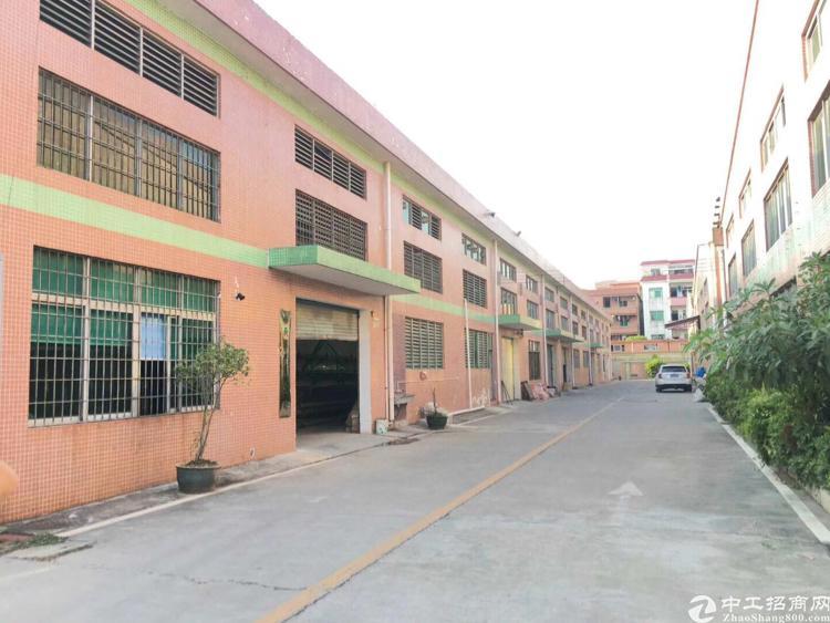 高埗镇大型工业区,1楼1200平方标准厂房出租