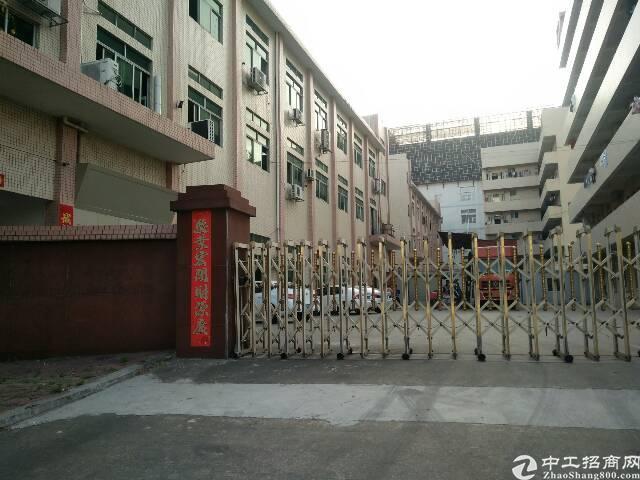 虎门靠厚街新空出原房东独院厂房三层3600平方,有现成办公室