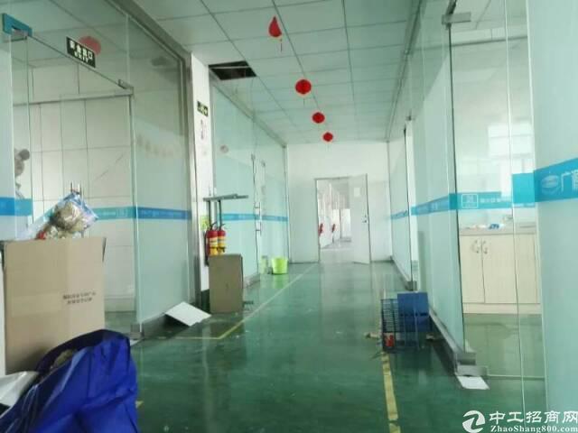 坪山龙田社区二楼带装修厂房整层1300平出租-图4