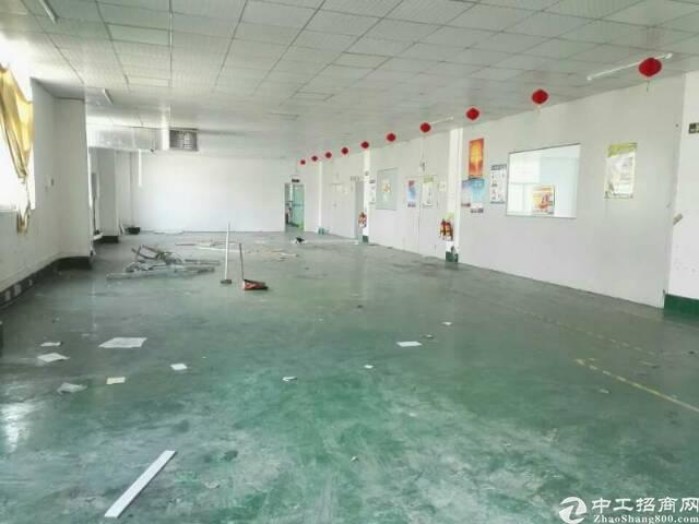坪山龙田社区二楼带装修厂房整层1300平出租-图5