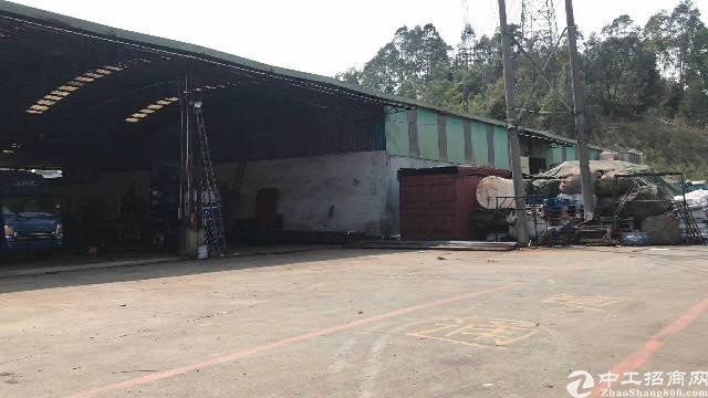 7米钢构独院1800平出租可做打包场地