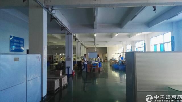 公明李松蓢独院三层带行车厂房出租