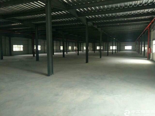 高埗镇新出单一层铁皮房1500平 滴水够高,适合大型仓库