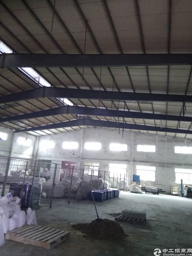 龙岗坪地紧靠新生独栋钢构厂房1100平方滴水七米厂房出租