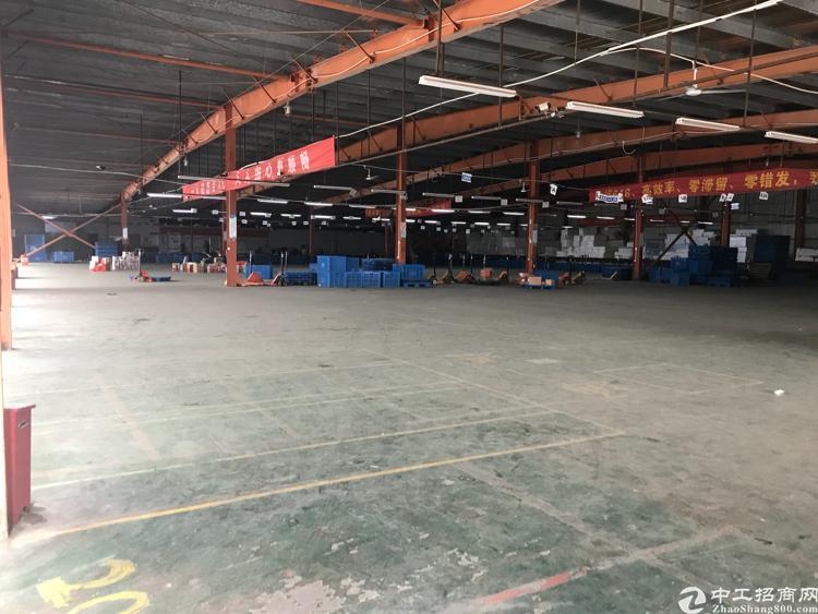 石岩洲石路边新出3000平米钢构厂房招租