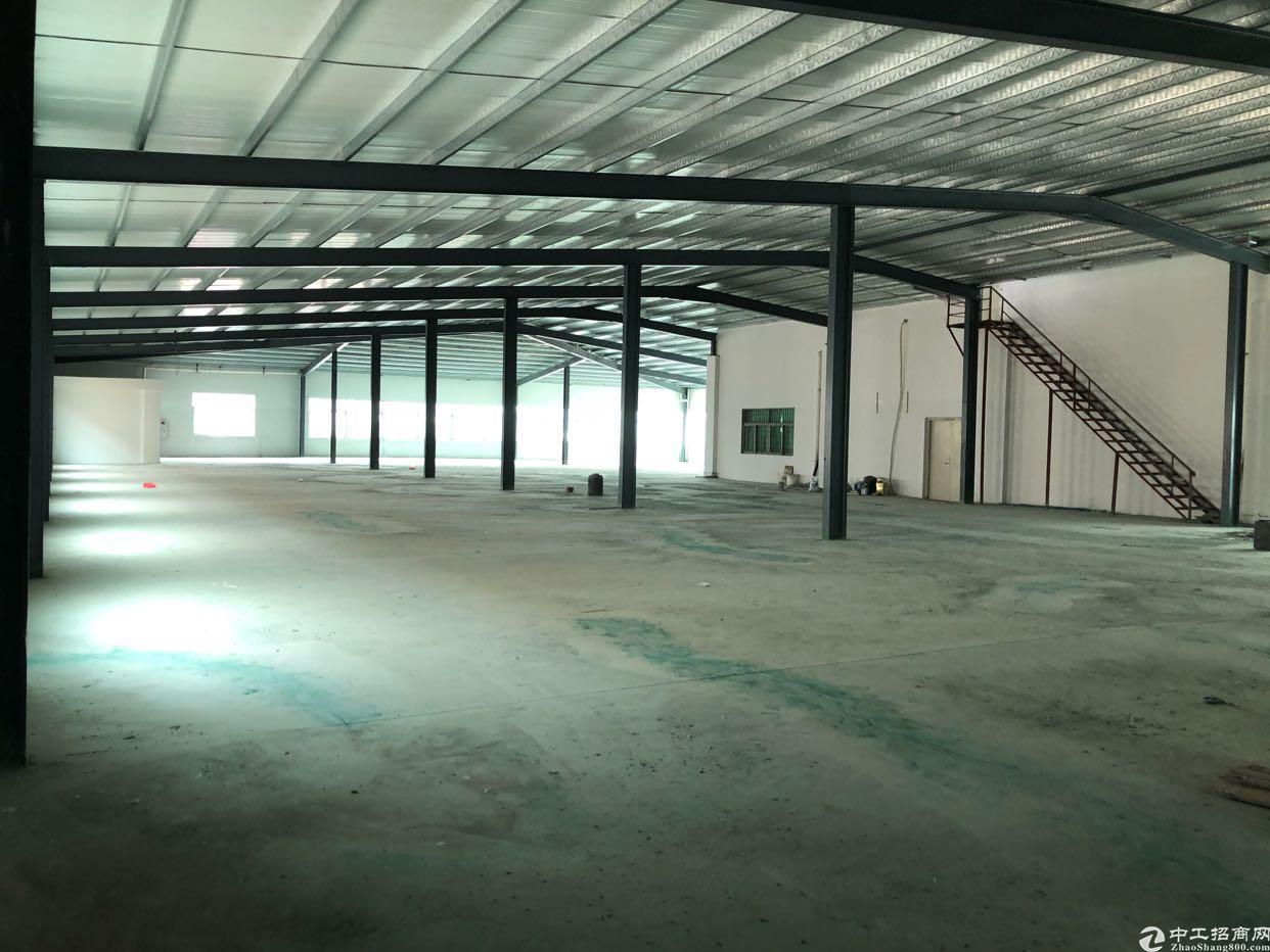 黄江镇独门独院厂房招租4楼铁皮房,现成办公室