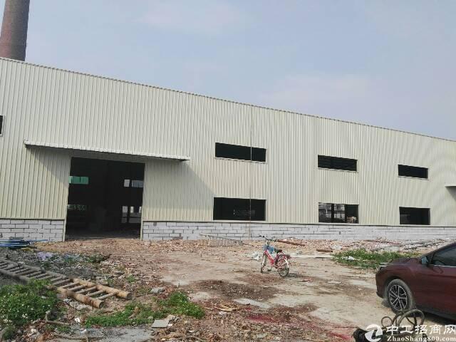 高埗镇全新独门独院新出单一层钢构厂房出租