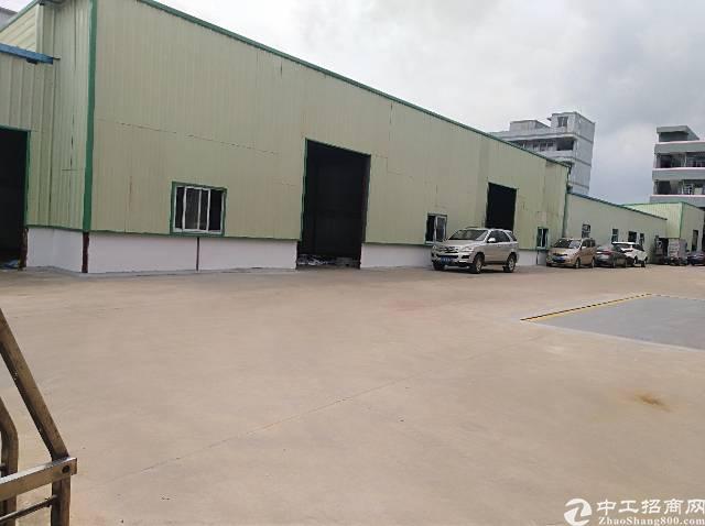 清溪夏坭村单一层钢构700滴水6米主线到位