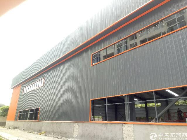 高埗镇全新钢构高12米带现成装修厂房出租