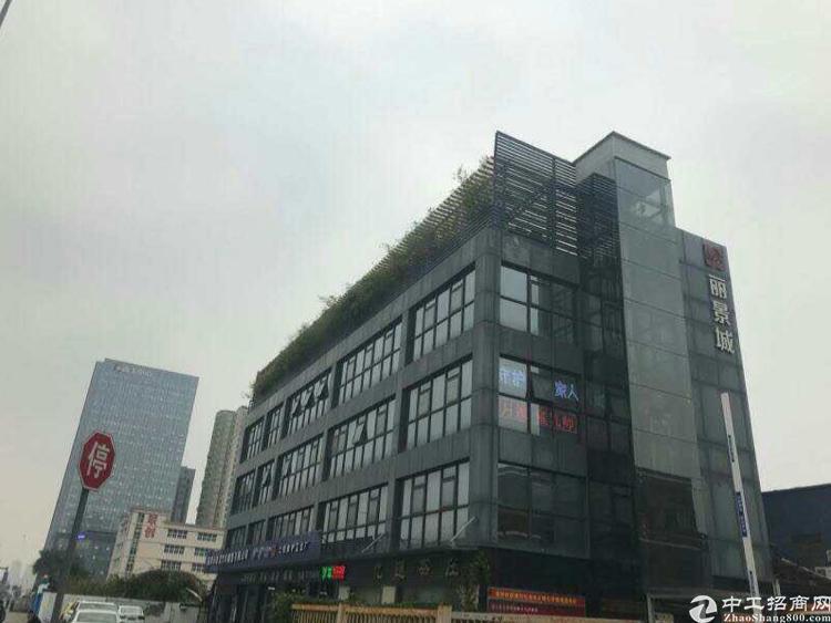 清湖地铁站附近新出精装写字楼无需转让费