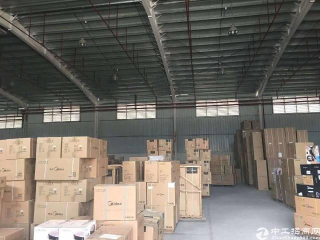 石岩一楼钢构厂房1000平方'招租,原房东厂房