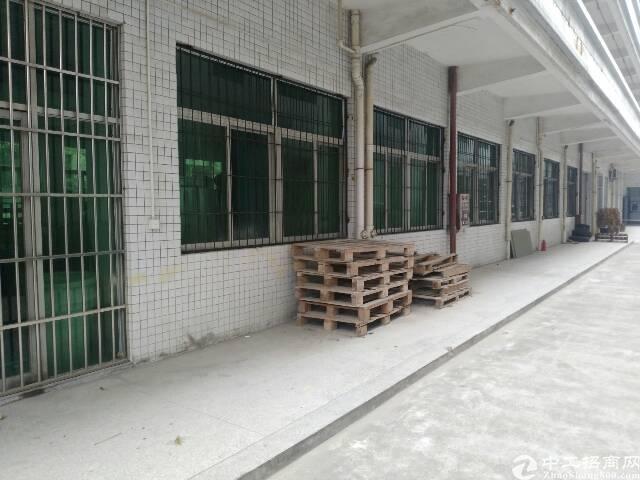 高埗镇新出标准厂房一楼位置绝佳,工业园区内,空地超大,
