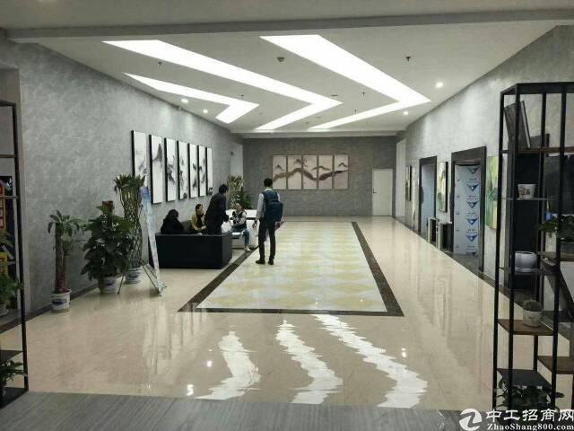 龙华龙胜地铁站附近带装修写字楼出租