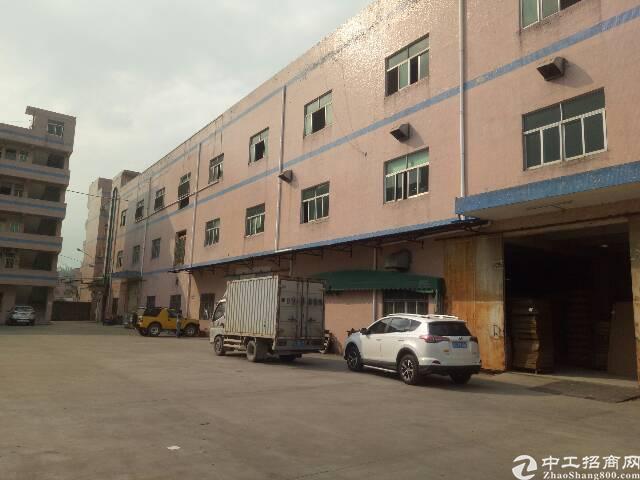 清溪镇新出标准厂房一楼1300㎡带装修厂房出租