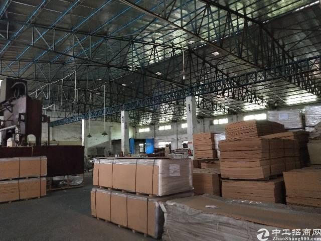 虎门镇新出独院钢构厂房面积3000平方,租金16块