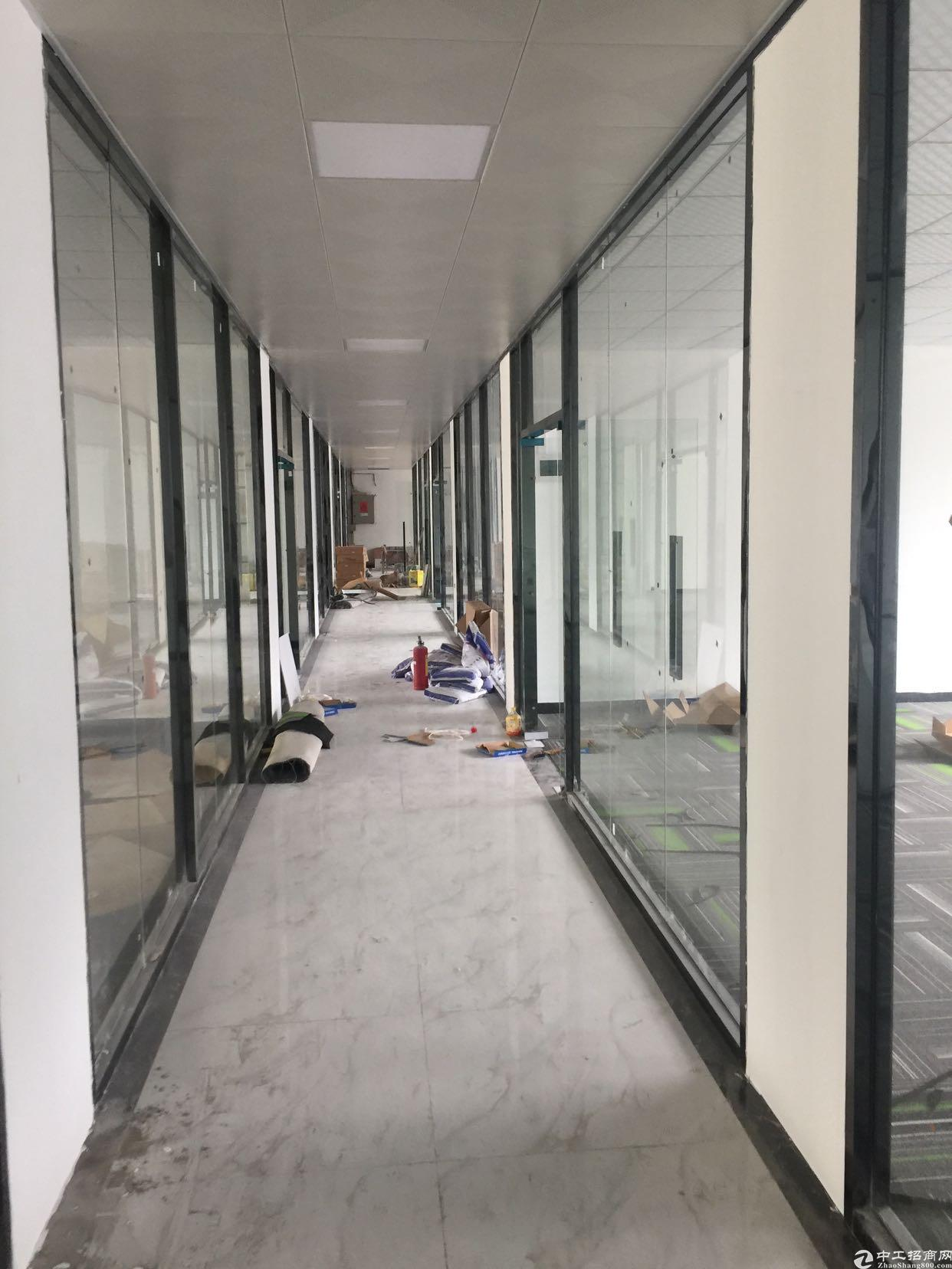 大浪商业中心附近新出电商园招租大小可分