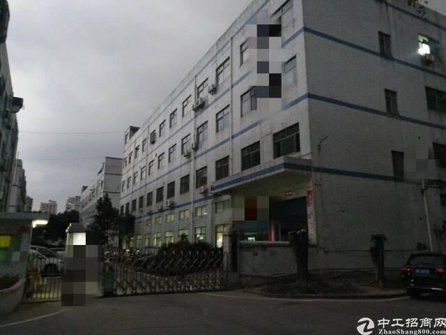 宝安大道塘尾地铁口新出独门独院1~4层5600平方标准厂房