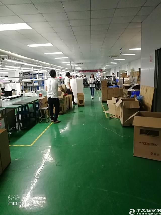福永和平新出楼上800平米厂房出租-图3