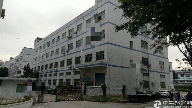 沙井宝安大道边马鞍山地铁附近4层6200平方独院厂房