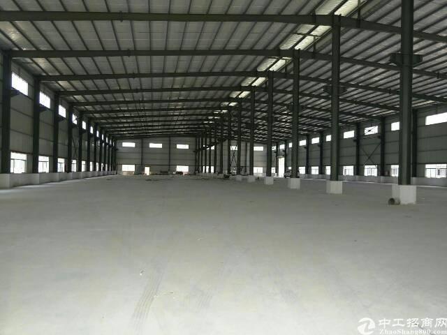 虎门镇广深高速路口边上大型全新钢构厂房出租