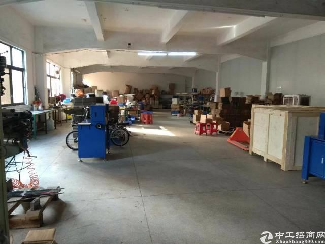 长安涌头 铁皮钢构厂房实际面积五百平,实业客转租