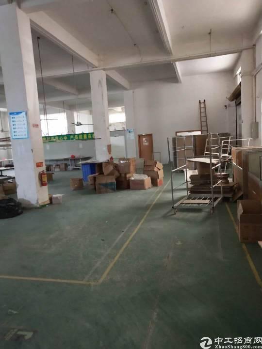 惠州水口工业区内独院一楼1450平标准厂房出租!