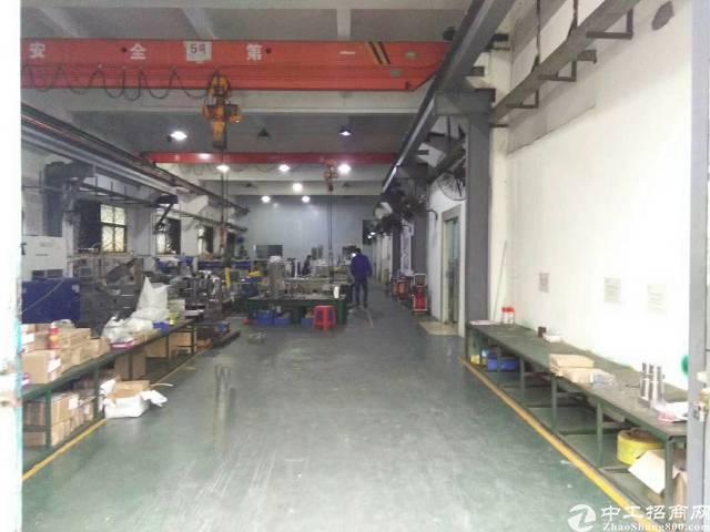 镇标准厂房一楼1500平整层,带现成行车3台,本月空出,