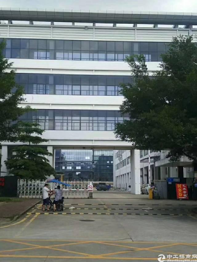 龙岗宝龙高新区红本厂房一楼4000平米高5.5米二楼4000