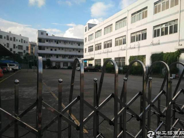 龙华大浪独院厂房1-3楼9000平厂房出租