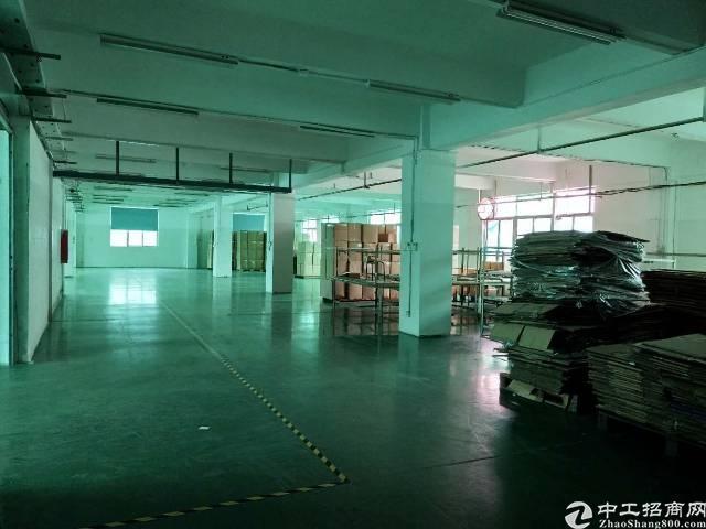 龙岗爱联新出厂房二楼1200平方出租