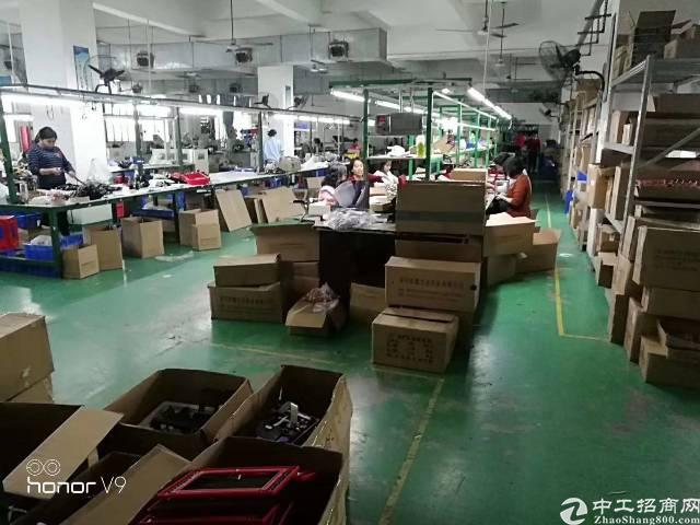 福永塘尾工业园整层1800平米厂房出租