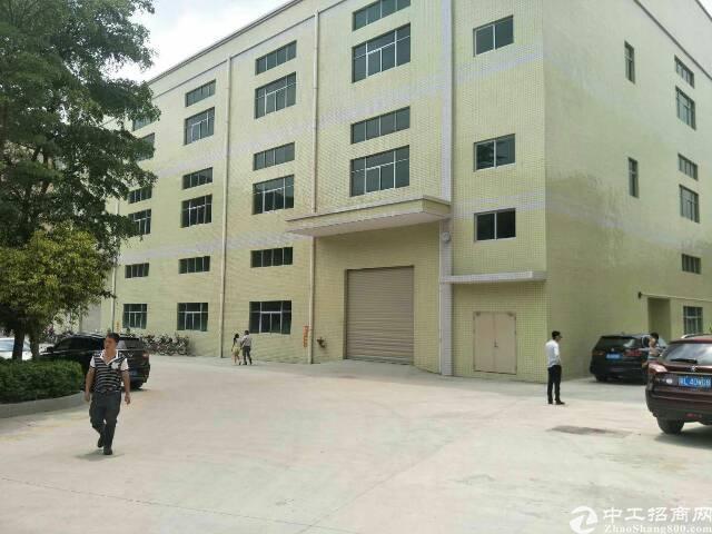 惠州惠阳国道边全新标准厂房分租一楼850平米