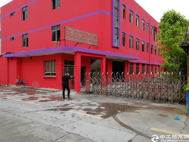 沙井北环路边衙边新出独院厂房1~3层4200平方出租